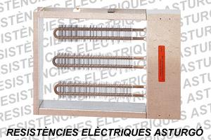 Batería eléctrica rectangular de aletas