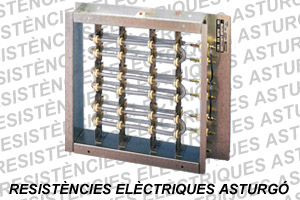 Batería eléctrica rectangular hilo al aire