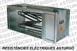 Batería eléctrica para caja de ventilación