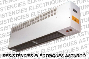 Cortinas de aire eléctricas